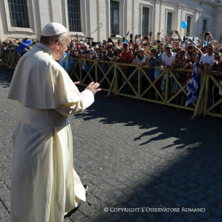 Pope Francis General Audience: Journey to Poland, 31st World Youth Day