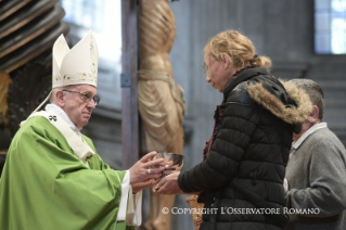 Homily of his Holiness Pope Francis: Jubilee for socially excluded people