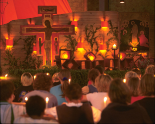 Eucharistic Adoration with the Brothers of the Taizé Community