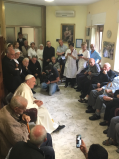 Fridays of Mercy – Pope Francis Visits Two Communities of Priests