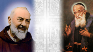 The relics of Saint Pio and Saint Leopold in Rome