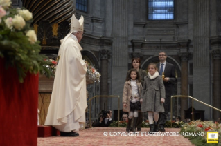 Homily of the Holy Father Francis for families
