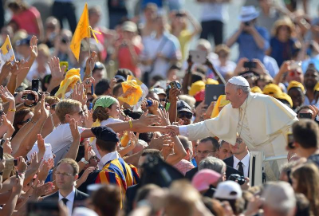 Pope Francis General Audience: Mercy and Justice